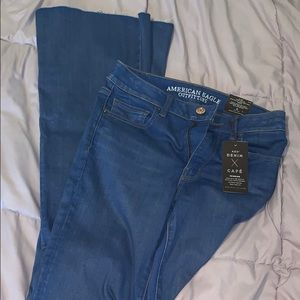 NWT AE Flare Jeans, 6 Long